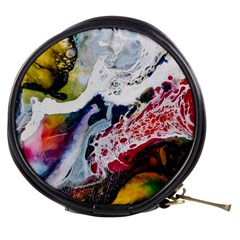 Abstract Art Detail Painting Mini Makeup Bags