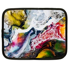 Abstract Art Detail Painting Netbook Case (xxl)