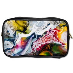 Abstract Art Detail Painting Toiletries Bags 2 Side