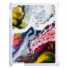 Abstract Art Detail Painting Apple Ipad 2 Case (white)