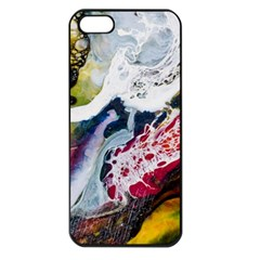 Abstract Art Detail Painting Apple Iphone 5 Seamless Case (black)