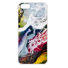 Abstract Art Detail Painting Apple Iphone 5 Seamless Case (white)