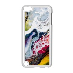 Abstract Art Detail Painting Apple Ipod Touch 5 Case (white)