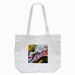 Abstract Art Detail Painting Tote Bag (white)