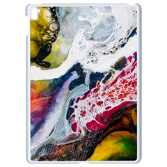 Abstract Art Detail Painting Apple Ipad Pro 9 7   White Seamless Case