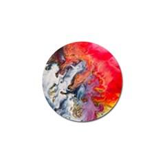 Art Abstract Macro Golf Ball Marker (4 Pack)