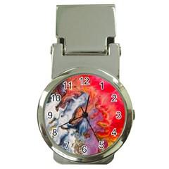 Art Abstract Macro Money Clip Watches