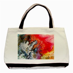 Art Abstract Macro Basic Tote Bag