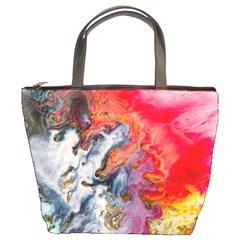 Art Abstract Macro Bucket Bags