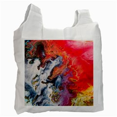 Art Abstract Macro Recycle Bag (one Side)