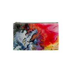 Art Abstract Macro Cosmetic Bag (small)