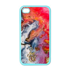 Art Abstract Macro Apple Iphone 4 Case (color)