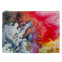 Art Abstract Macro Cosmetic Bag (xxl)