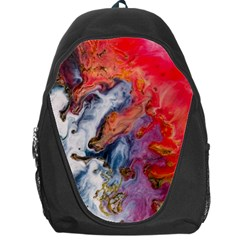 Art Abstract Macro Backpack Bag