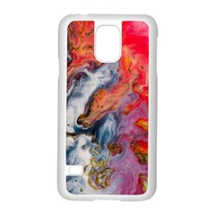 Art Abstract Macro Samsung Galaxy S5 Case (white)