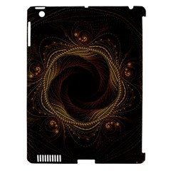 Beads Fractal Abstract Pattern Apple Ipad 3/4 Hardshell Case (compatible With Smart Cover)