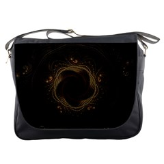 Beads Fractal Abstract Pattern Messenger Bags
