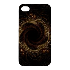 Beads Fractal Abstract Pattern Apple Iphone 4/4s Premium Hardshell Case