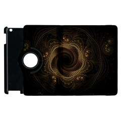 Beads Fractal Abstract Pattern Apple Ipad 3/4 Flip 360 Case