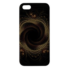 Beads Fractal Abstract Pattern Apple Iphone 5 Premium Hardshell Case