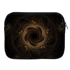 Beads Fractal Abstract Pattern Apple Ipad 2/3/4 Zipper Cases