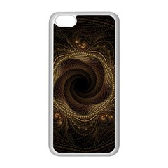 Beads Fractal Abstract Pattern Apple Iphone 5c Seamless Case (white)