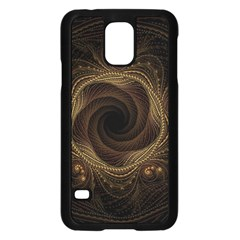 Beads Fractal Abstract Pattern Samsung Galaxy S5 Case (black)