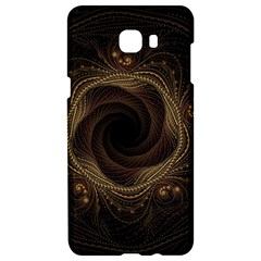 Beads Fractal Abstract Pattern Samsung C9 Pro Hardshell Case