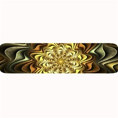 Fractal Flower Petals Gold Large Bar Mats