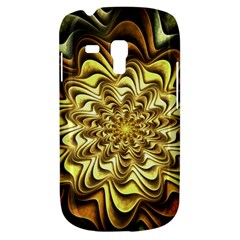 Fractal Flower Petals Gold Galaxy S3 Mini