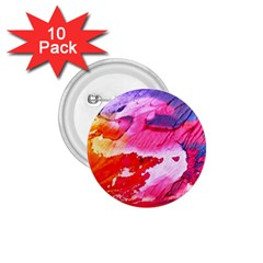 Abstract Art Background Paint 1 75  Buttons (10 Pack)