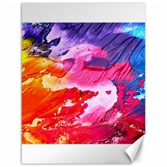 Abstract Art Background Paint Canvas 12  X 16