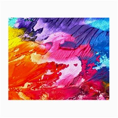 Abstract Art Background Paint Small Glasses Cloth (2 Side)