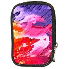 Abstract Art Background Paint Compact Camera Cases
