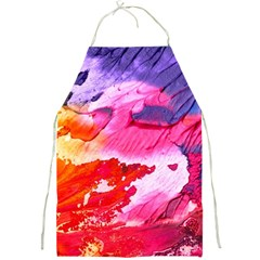 Abstract Art Background Paint Full Print Aprons