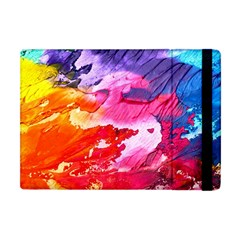Abstract Art Background Paint Apple Ipad Mini Flip Case