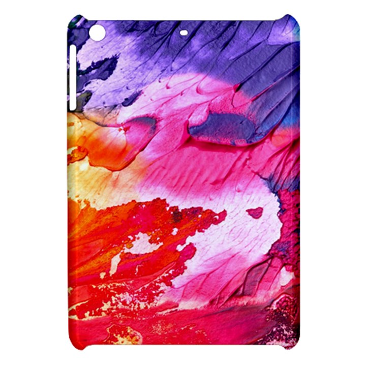 Abstract Art Background Paint Apple iPad Mini Hardshell Case