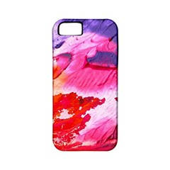 Abstract Art Background Paint Apple Iphone 5 Classic Hardshell Case (pc+silicone)