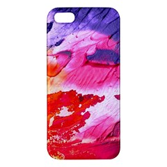 Abstract Art Background Paint Apple Iphone 5 Premium Hardshell Case