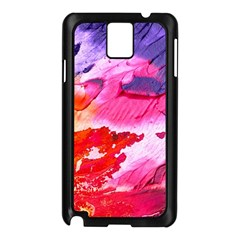 Abstract Art Background Paint Samsung Galaxy Note 3 N9005 Case (black)