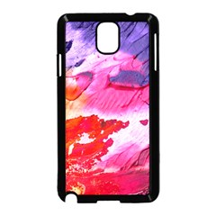 Abstract Art Background Paint Samsung Galaxy Note 3 Neo Hardshell Case (black)