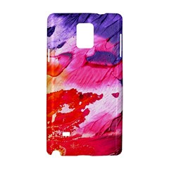 Abstract Art Background Paint Samsung Galaxy Note 4 Hardshell Case