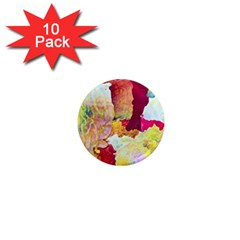 Art Detail Abstract Painting Wax 1  Mini Magnet (10 Pack)