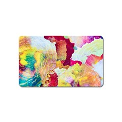 Art Detail Abstract Painting Wax Magnet (name Card)