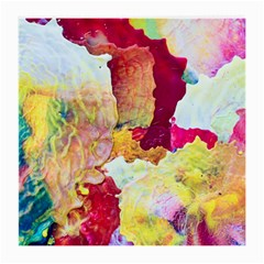 Art Detail Abstract Painting Wax Medium Glasses Cloth
