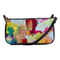 Art Detail Abstract Painting Wax Shoulder Clutch Bags