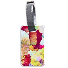 Art Detail Abstract Painting Wax Luggage Tags (one Side)
