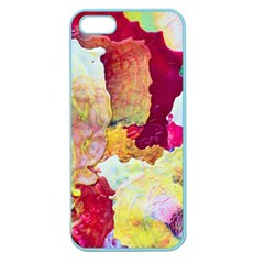 Art Detail Abstract Painting Wax Apple Seamless Iphone 5 Case (color)