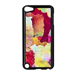 Art Detail Abstract Painting Wax Apple Ipod Touch 5 Case (black)