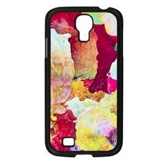 Art Detail Abstract Painting Wax Samsung Galaxy S4 I9500/ I9505 Case (black)